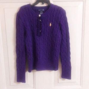 Girls Ralph L auren sweater